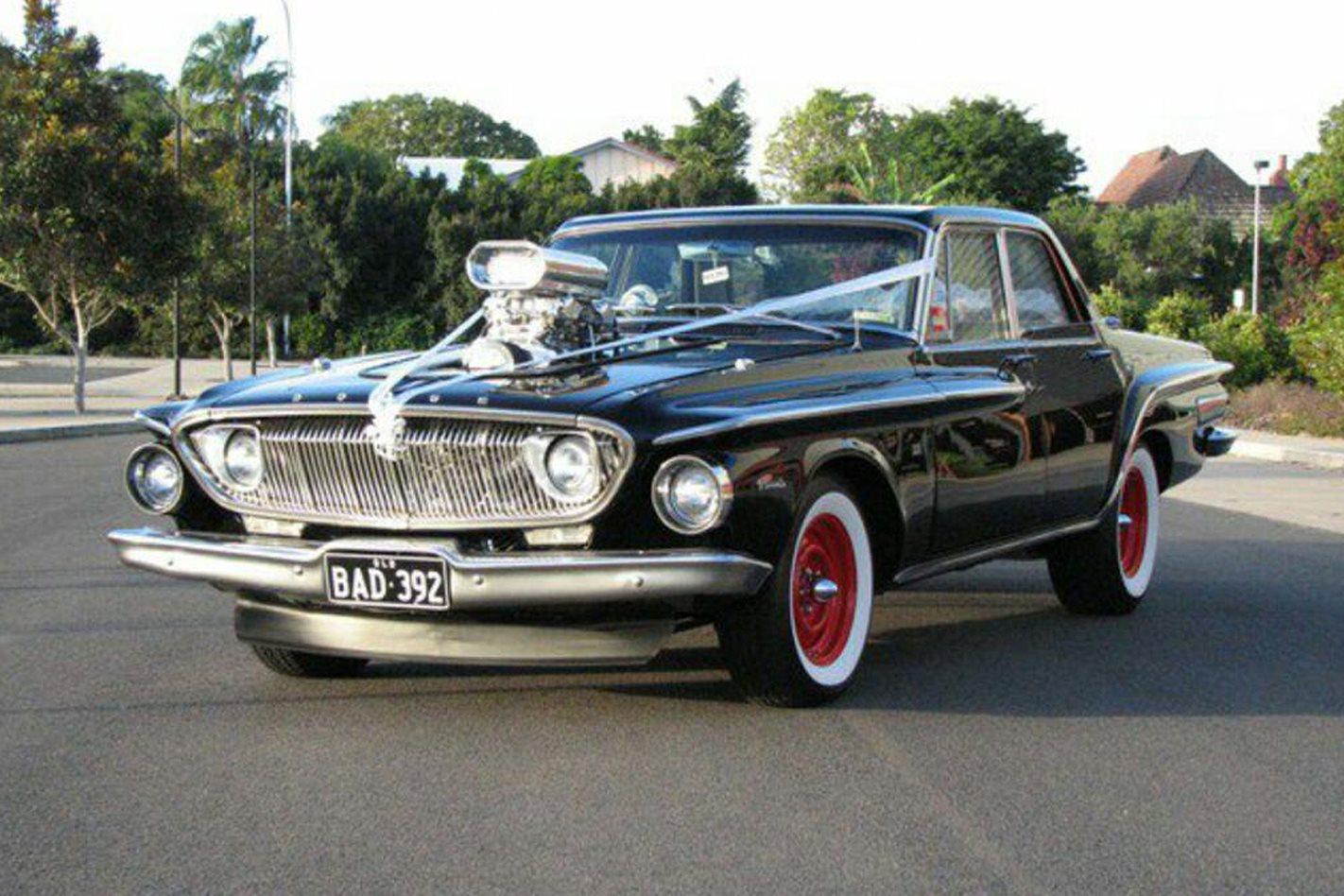 Warren Azzopardi's wedding car
