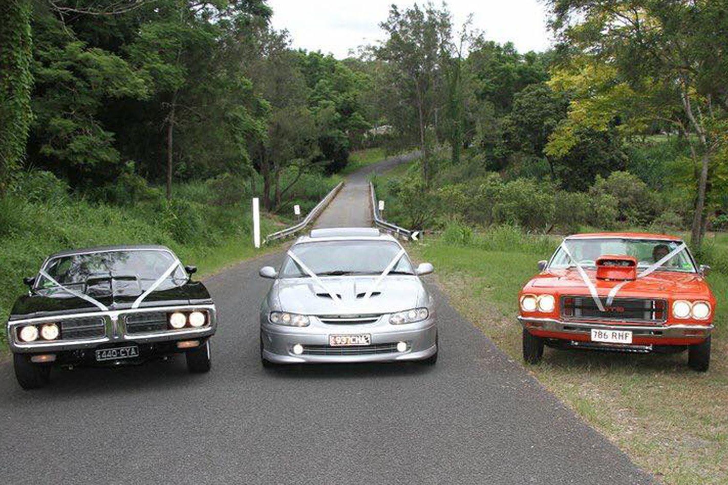 Marty Shea's wedding cars