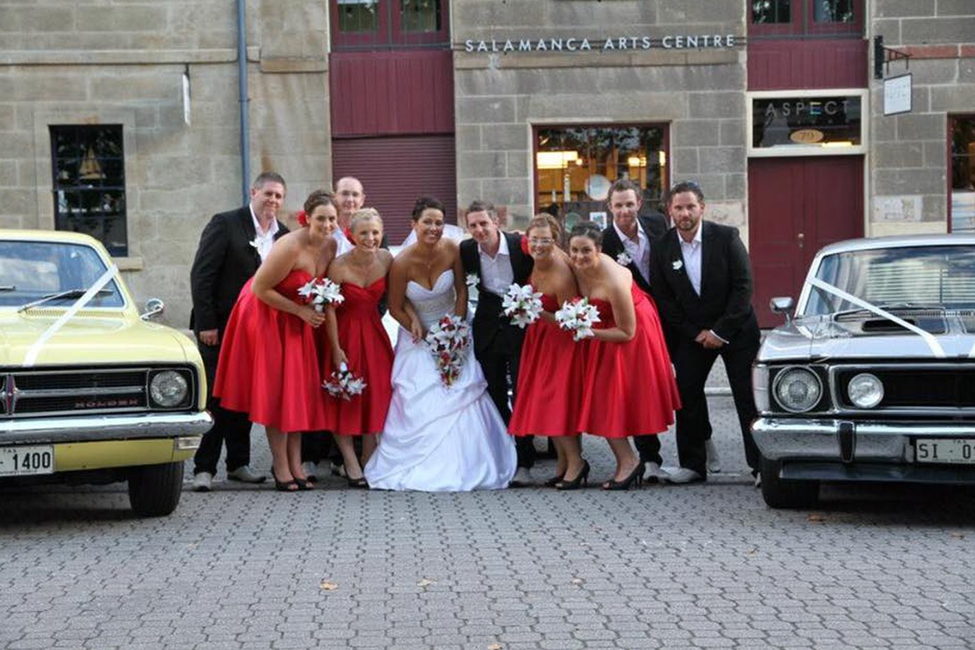 Rowan Gordon's wedding cars