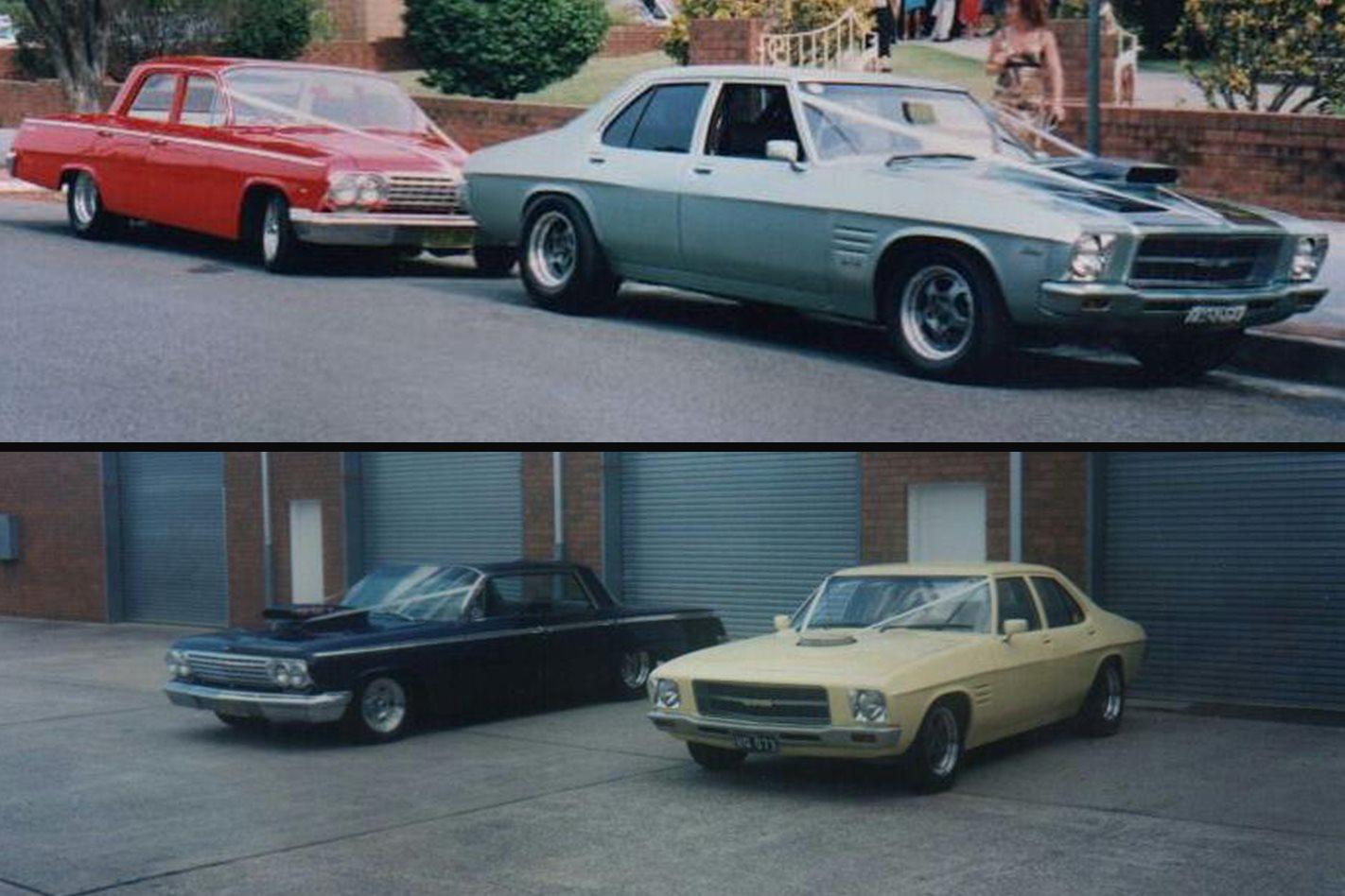 Bob Tipping's wedding cars