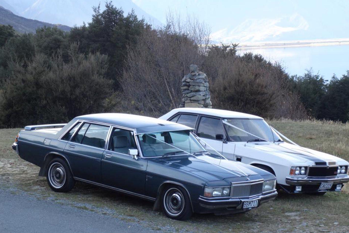 Andrew Watson's wedding cars