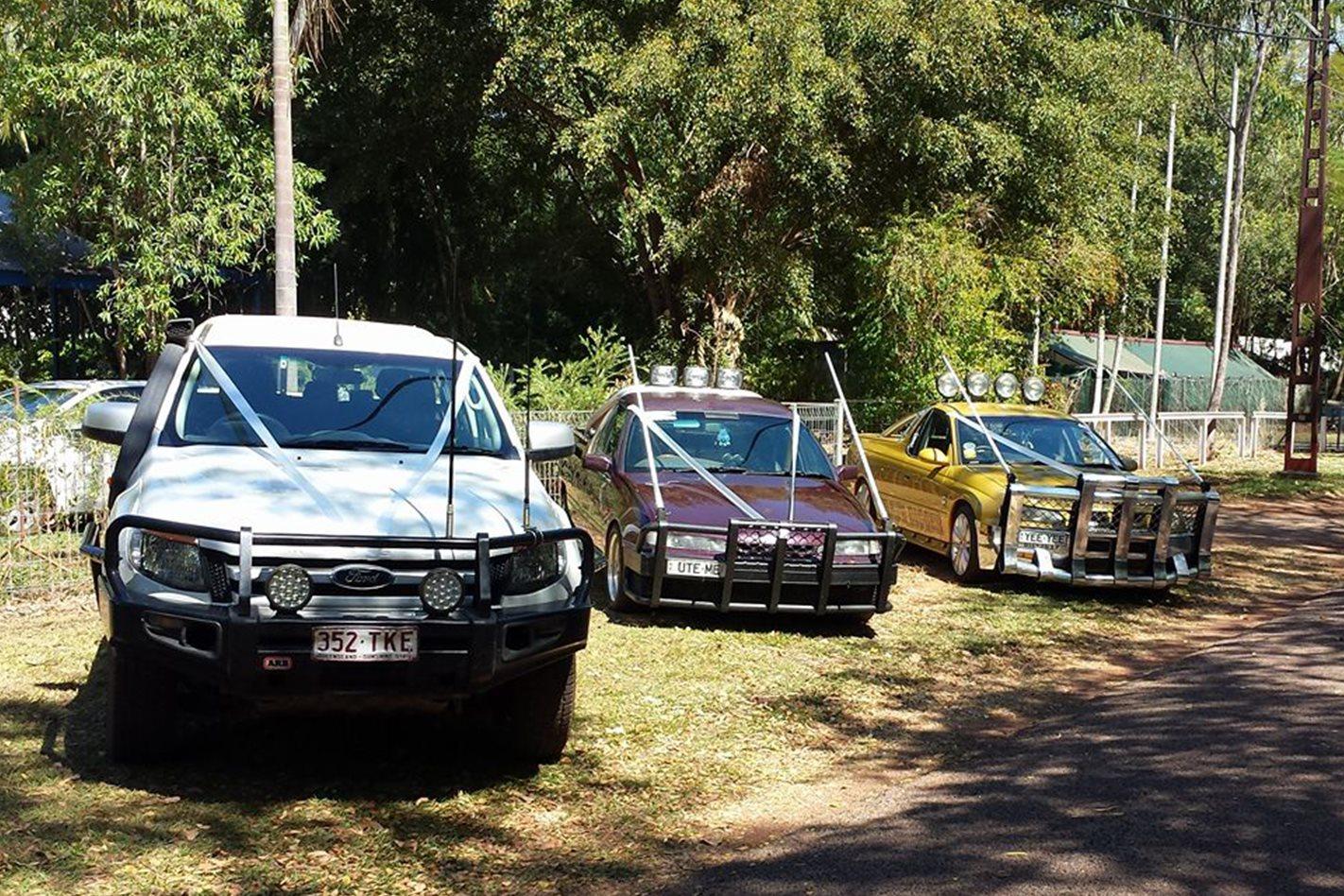 Bevan O'Connor's wedding cars