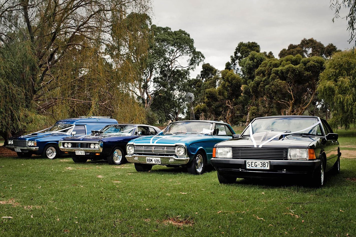 Steevie Joy's wedding cars