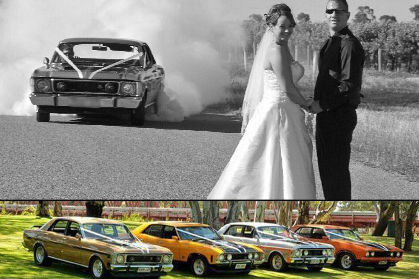 Ben Pobke's wedding cars
