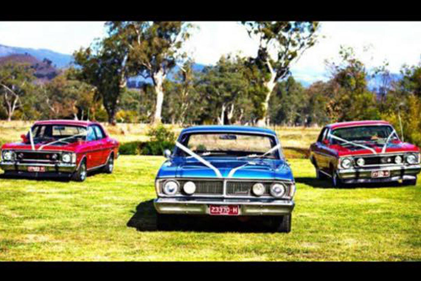 Dale Penjin's Falcon wedding cars