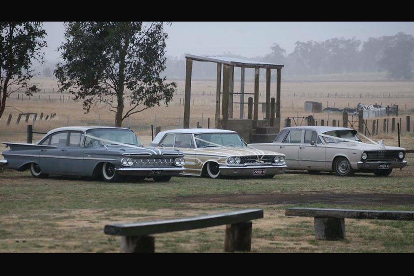 Christopher O'Sullivan's wedding cars