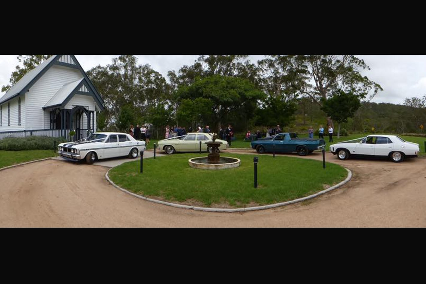 James Turner's wedding cars