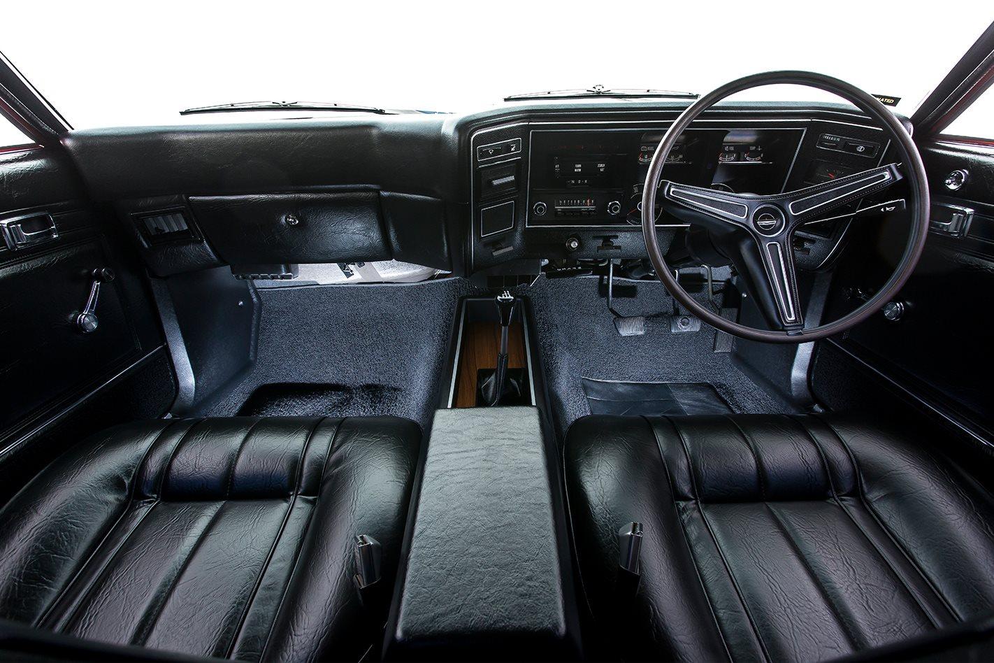 Ford Falcon XB GT hardtop interior