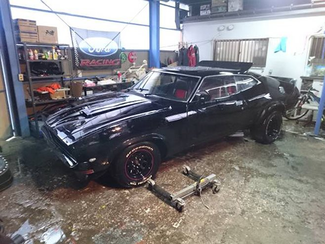 Mad Max Style Xb Ford Falcon Coupe For Sale In Japan