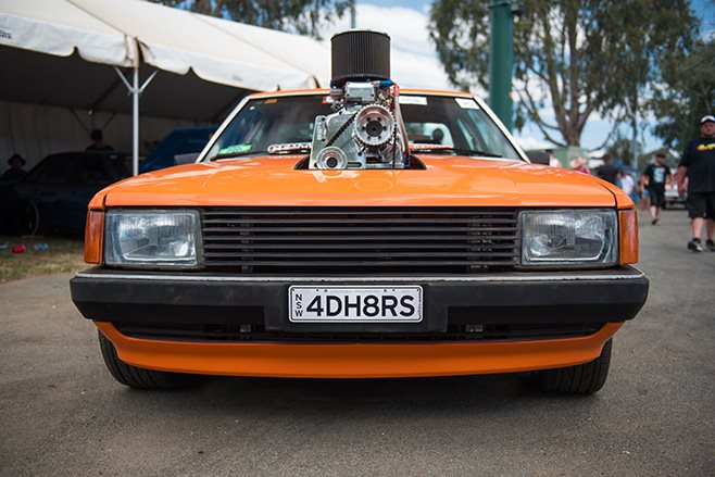 Robert Cottrell's Blown LS Powered XD Ford Falcon Front