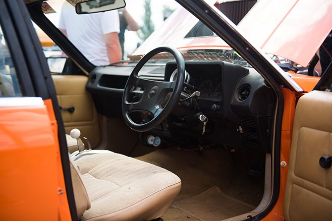 Robert Cottrell's Blown LS Powered XD Ford Falcon interior