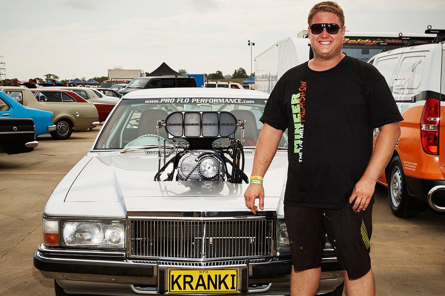 Daniel Souvleris's Holden HJ ute KRANKI