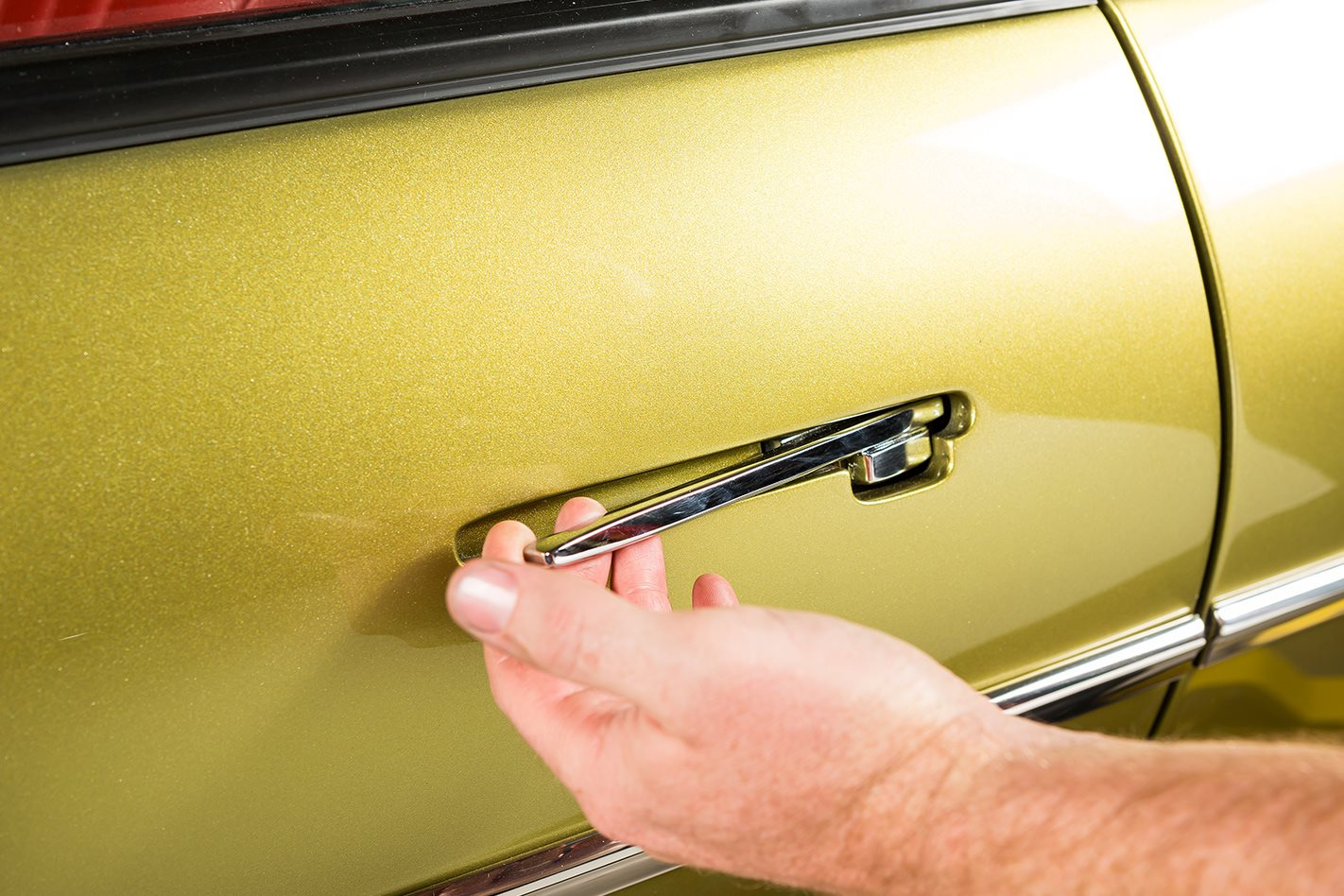 Holden FB Tailspin door handle