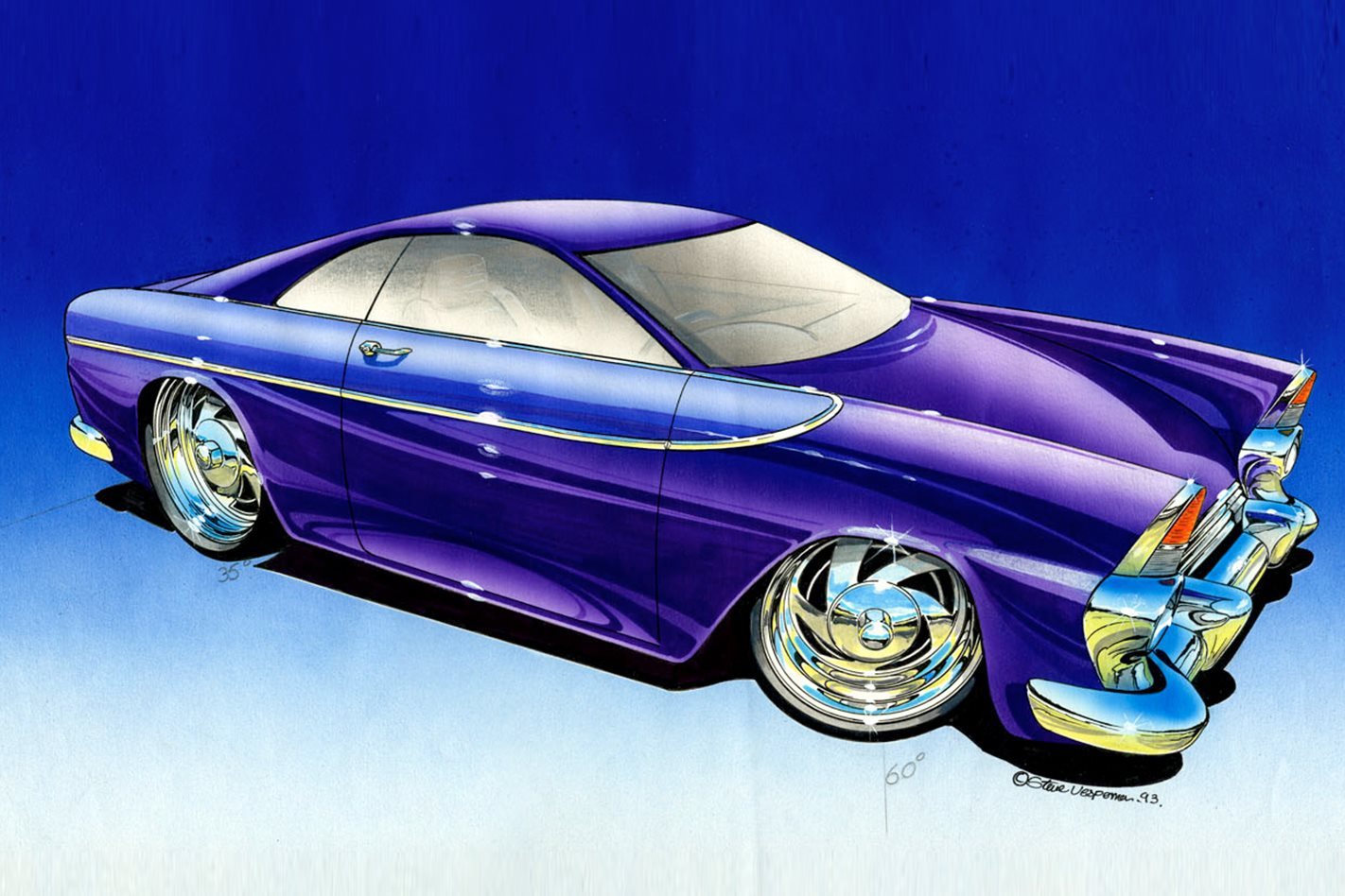 Holden FB Tailspin concept drawing