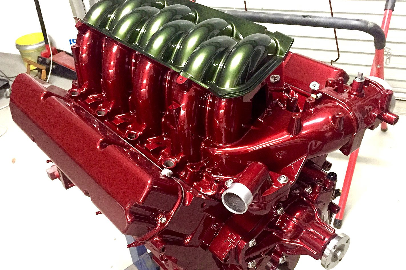 Tailspin FB Holden engine