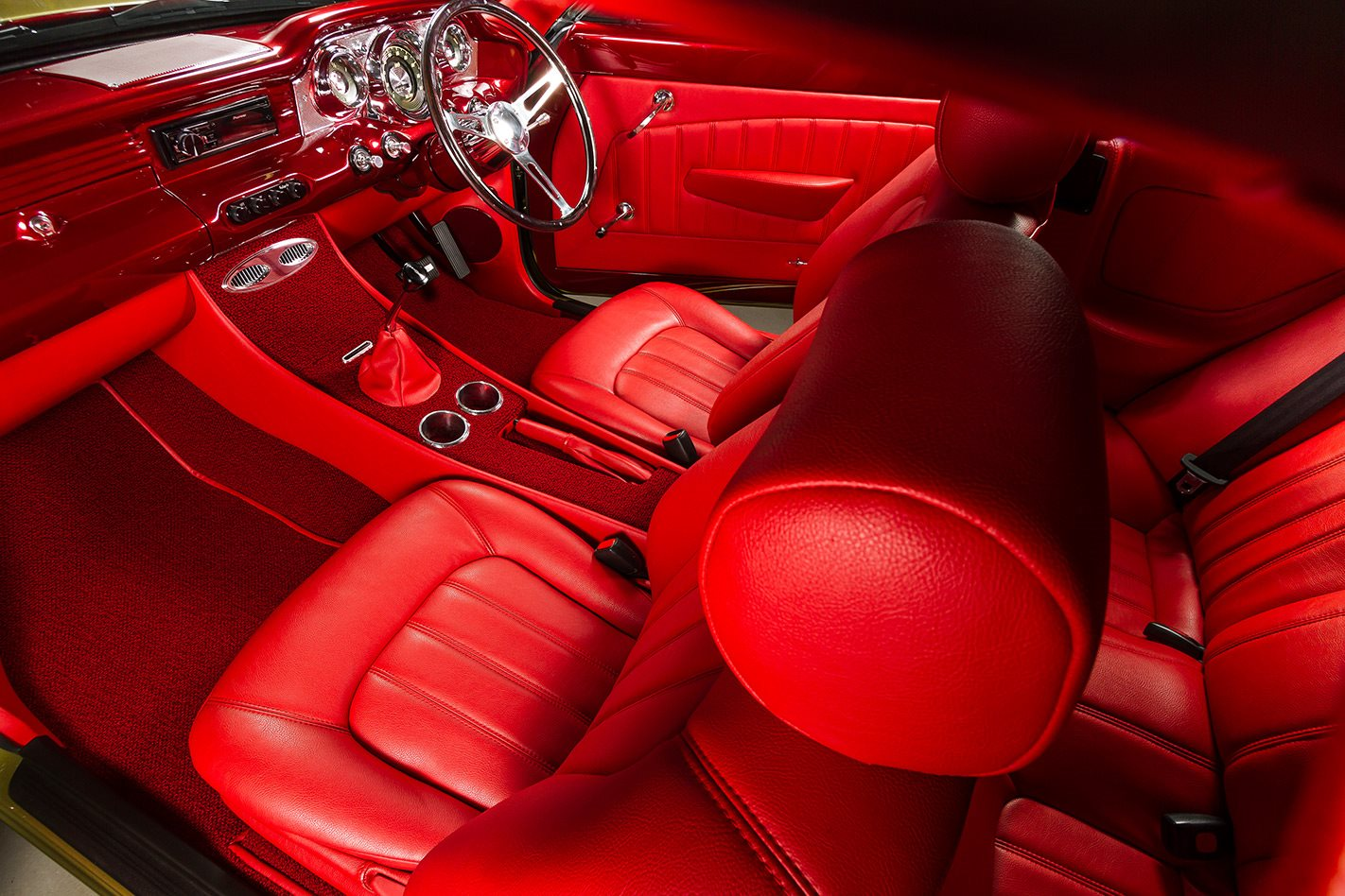 Holden FB Tailspin interior