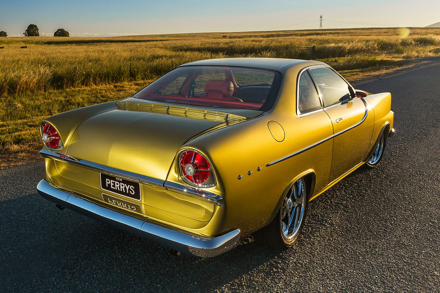 Holden FB Tailspin rear angle