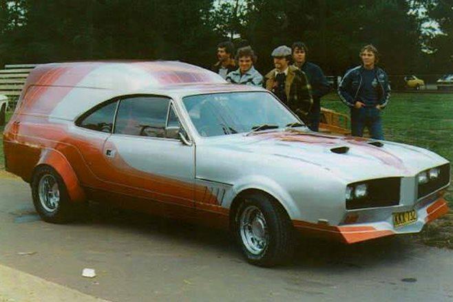 Hunchback Holden HT Monaro Panelvan