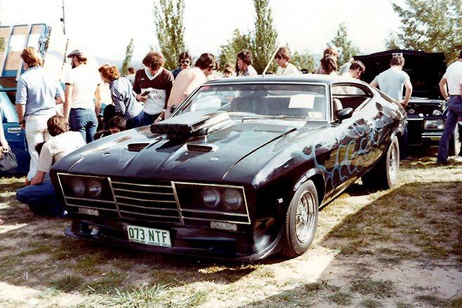 Jim Vanarey's Ford Falcon XA Hardtop