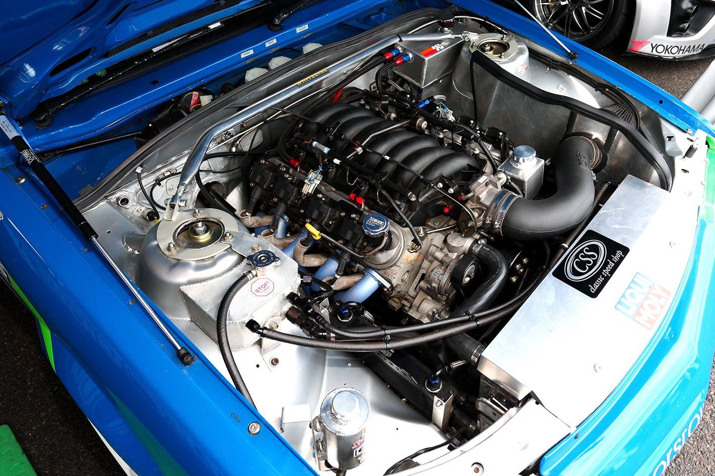 Holden VK Commodore LS1 engine