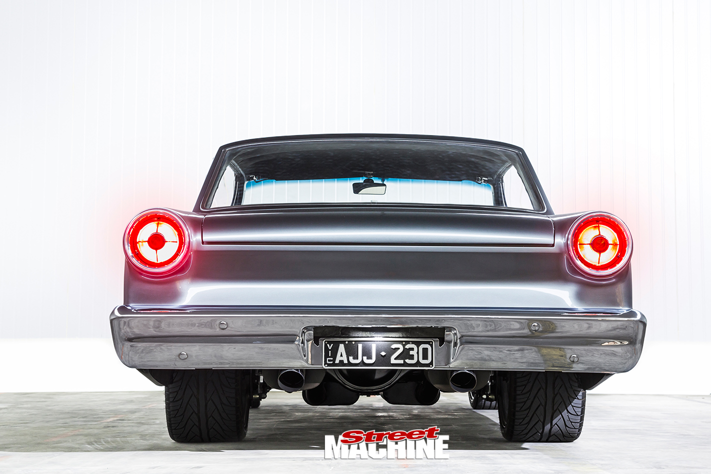 ford falcon xm coupe rear
