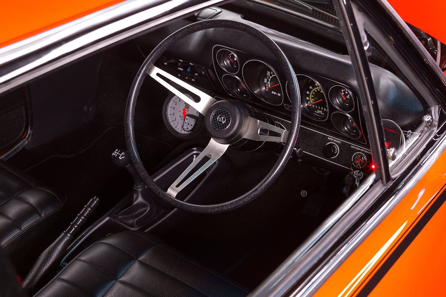 Holden LC Torana interior