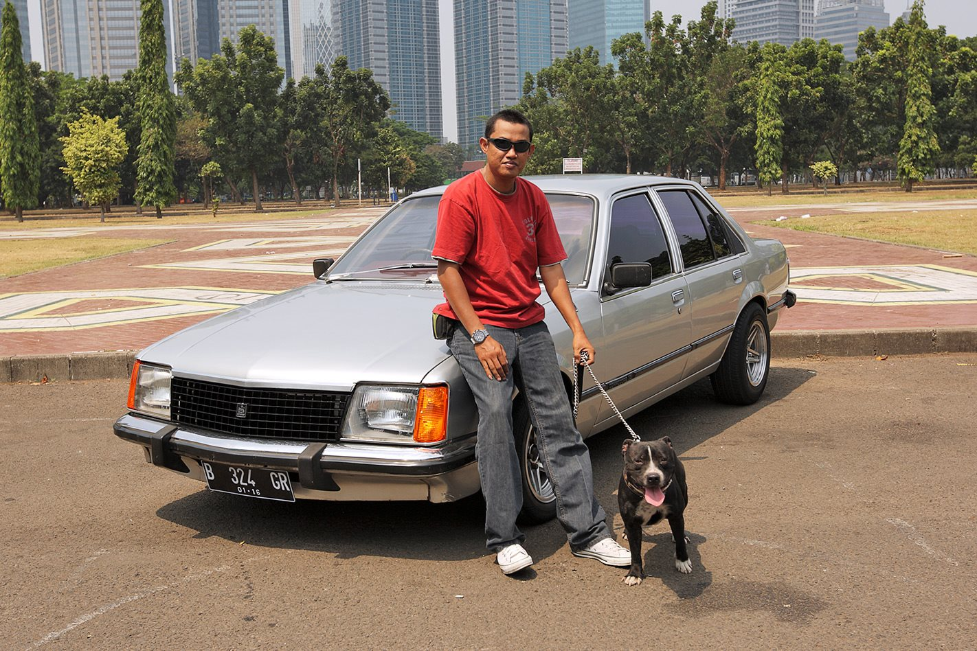 Holden Commodore in Jakarta