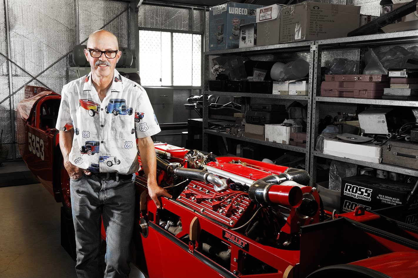 FLATHEAD V8 FANATIC AND DLRA LEGEND MIKE DAVIDSON - INTERVIEW