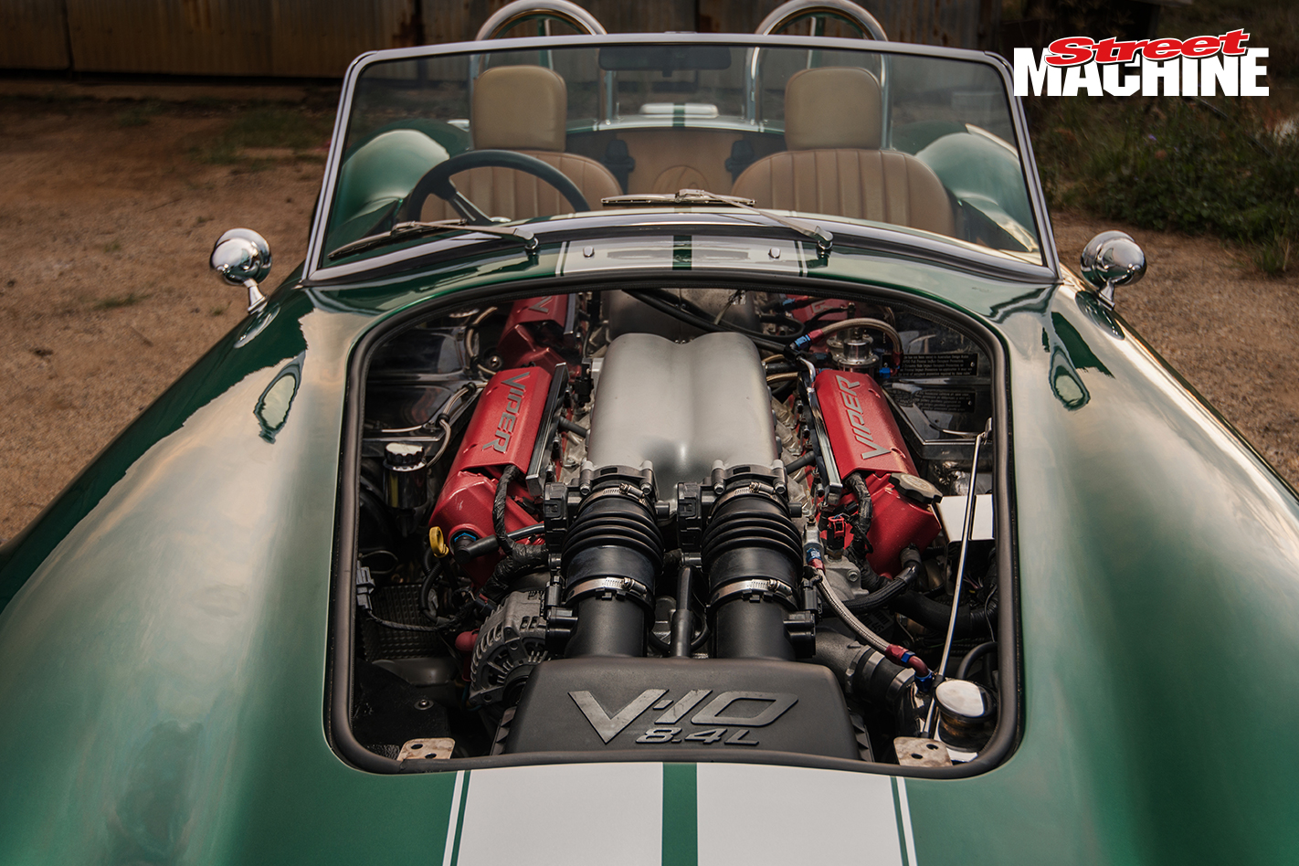 V10 Cobra engine bay