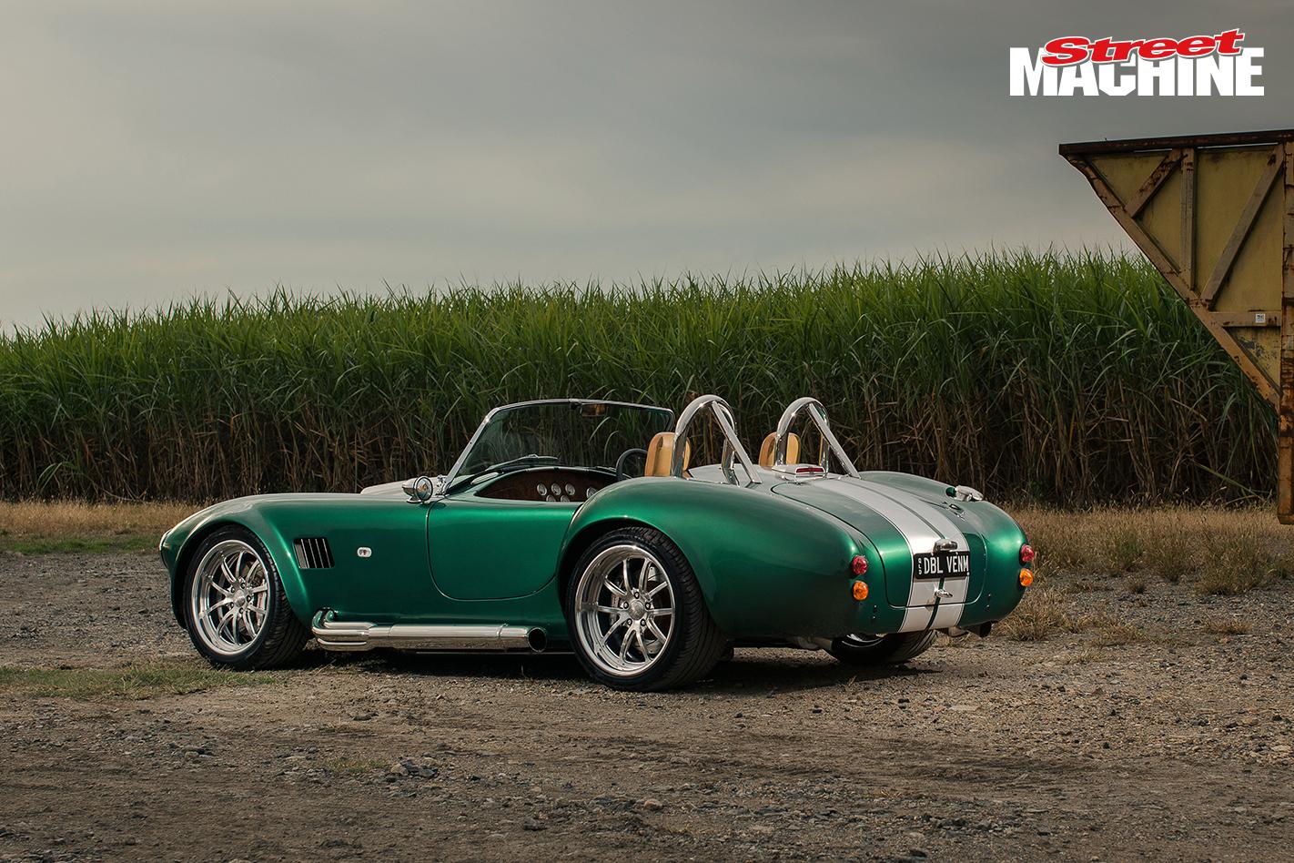 V10 Cobra rear angle