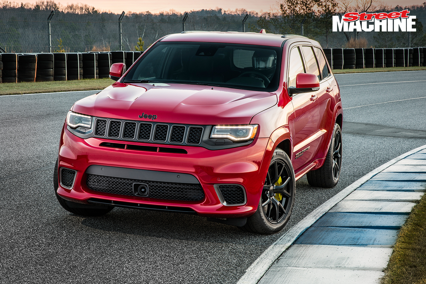 707hp hellcat powered jeep grand cherokee trackhawk revealed street machine. Black Bedroom Furniture Sets. Home Design Ideas