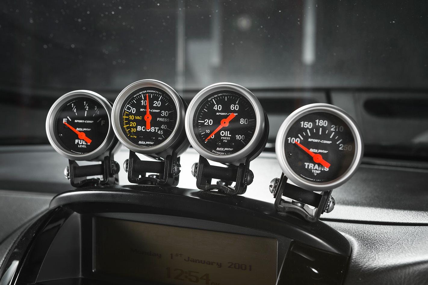 HSV Grange gauges