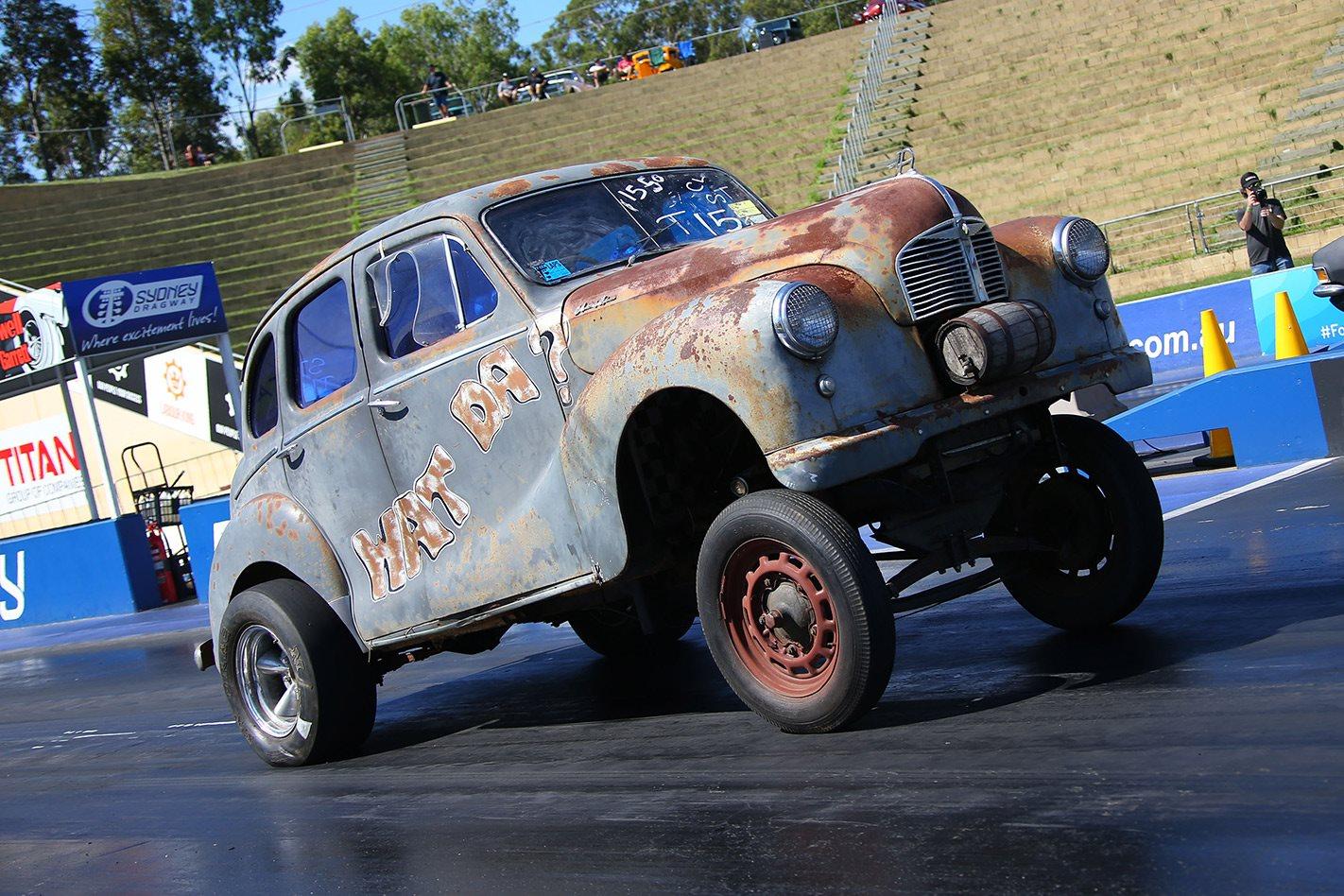 Austin A40 gasser