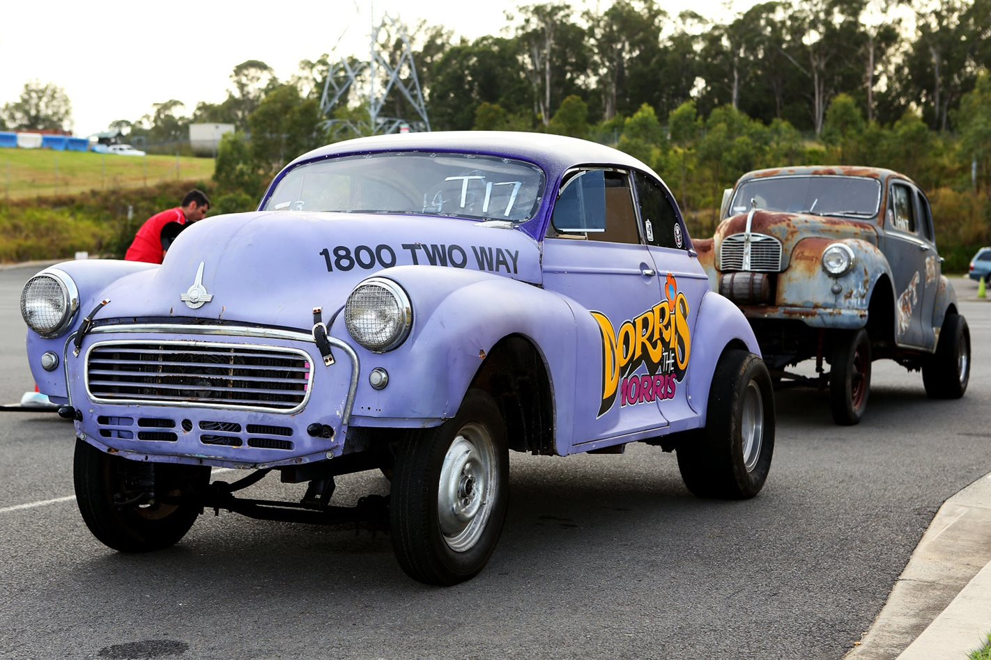 Dorris The Morris & Austin A40