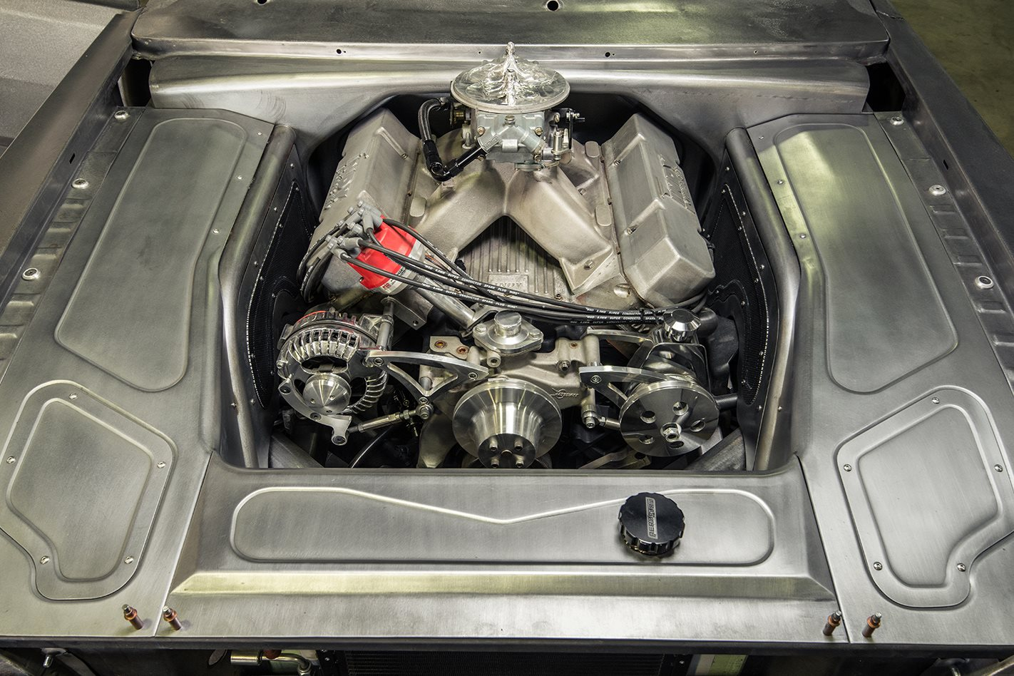 VG Valiant engine