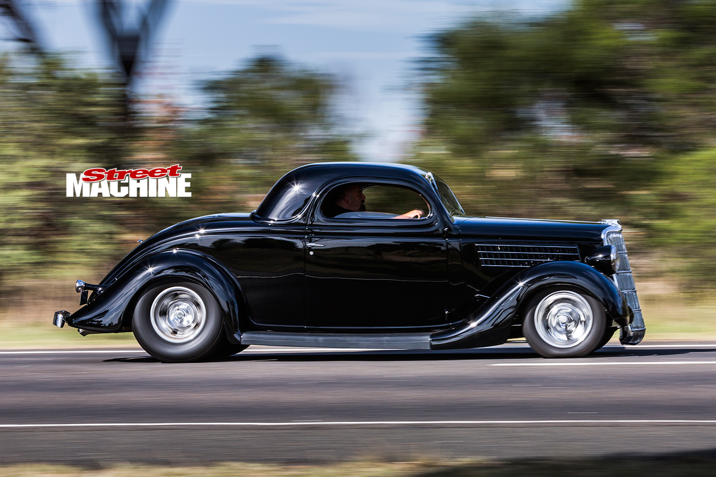1935 Ford coupe onroad