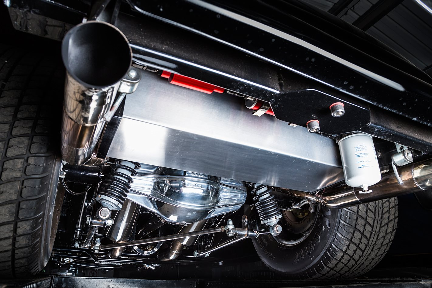 1935 Ford coupe exhaust