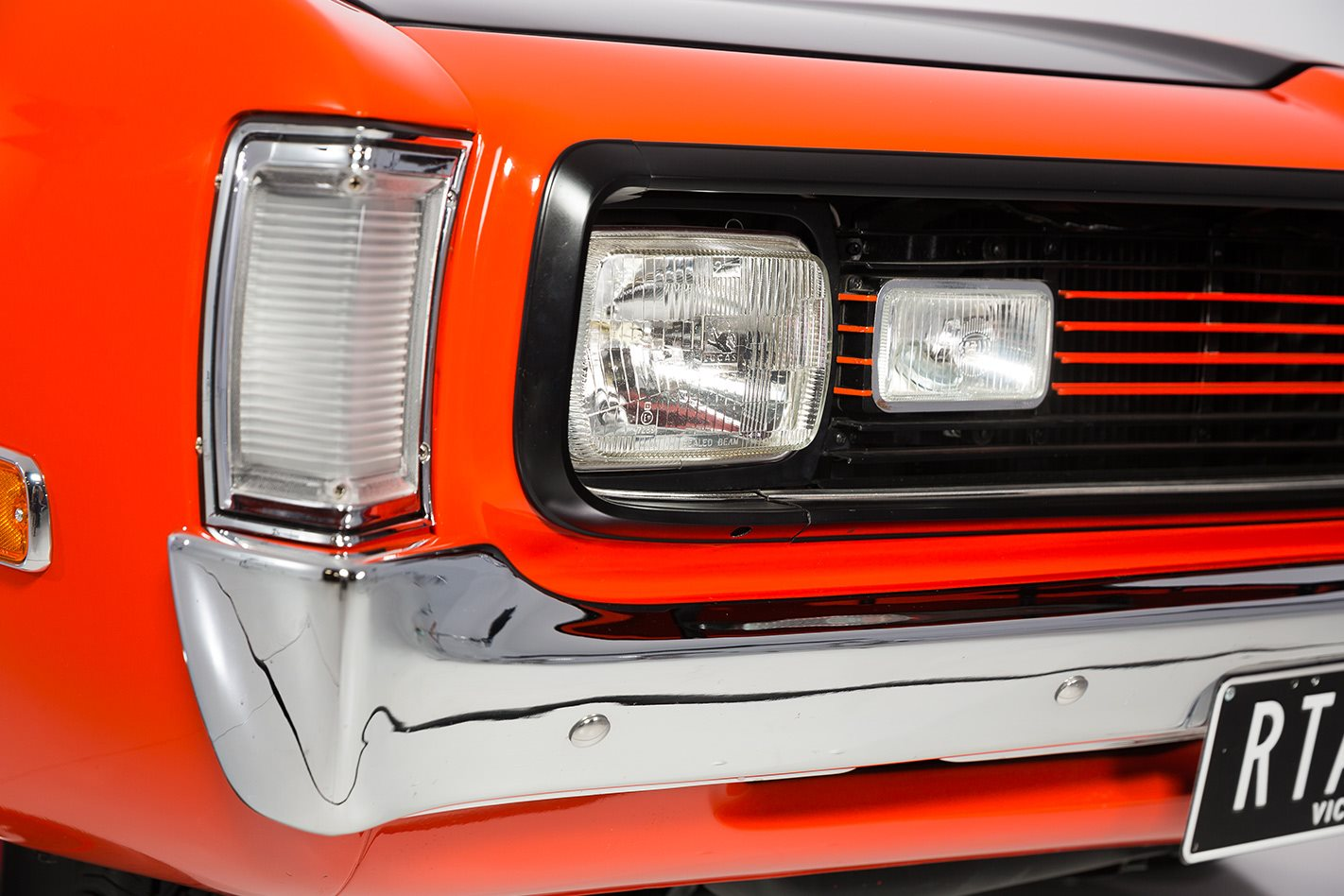 Valiant Charger headlight