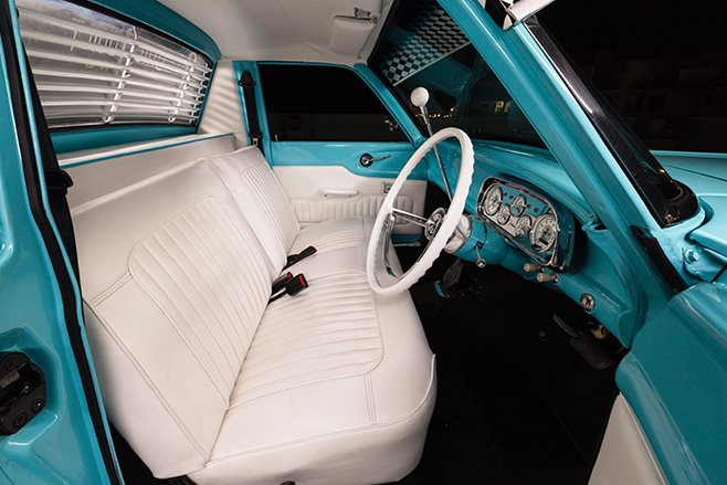 Ford XP ute interior