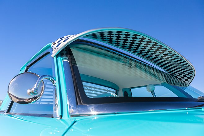 Ford XP ute visor