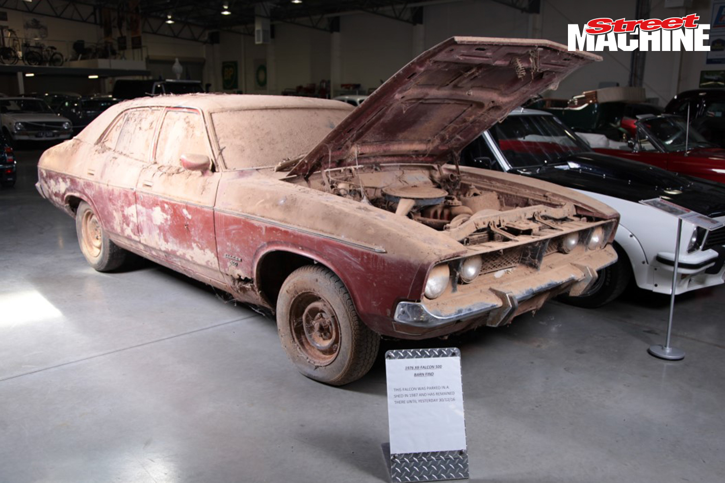 Phase three falcon up for auction video for Motor city barn finds