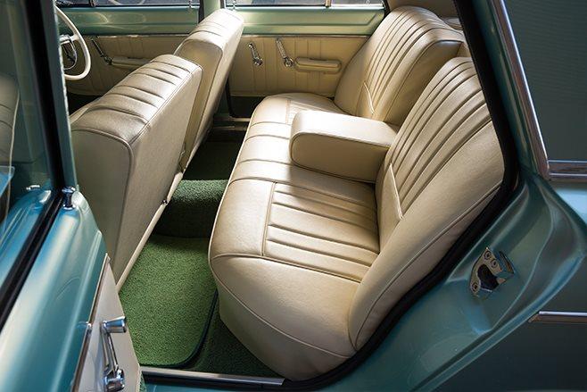 Chrysler VC Valiant interior rear