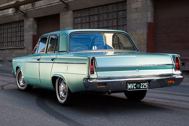 Chrysler VC Valiant rear