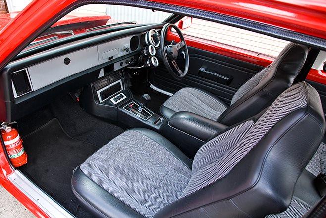 Holden LX Torana interior front