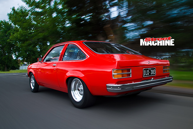 Holden LX Torana onroad