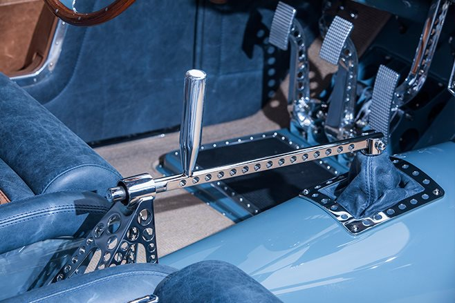 shoebox ford coupe detail