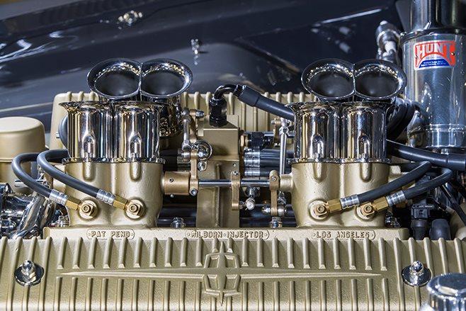 Shoebox Ford Coupe engine