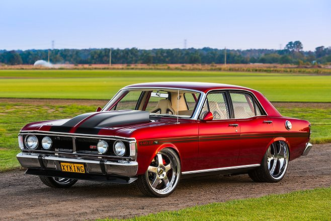 Show Quality Blown 1970 Ford Xy Falcon Xyking Street