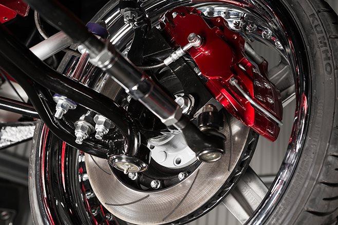 Ford Falcon XY brakes