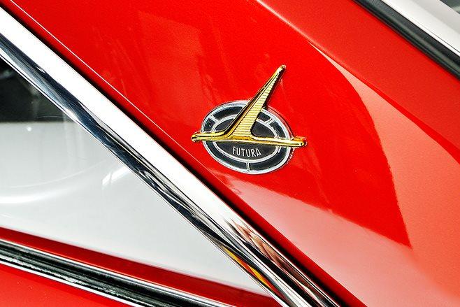 Ford Futura badge